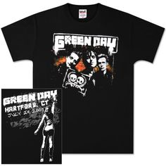 Green Day Hartford Event T-Shirt
