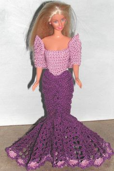 Crochet Fashion Doll Barbie Pattern- #568 EXCLUSIVELY PARISIAN #1