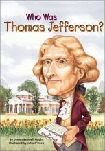 Who Was Thomas Jefferson? [Paperback]