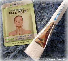 "MayBeauty ""Incredible Face Mask"" ~ Black is beauty + Gewinnspiel... http://www.tatis-buntetestwelt.de/2015/10/maybeauty-incredible-face-mask.html"