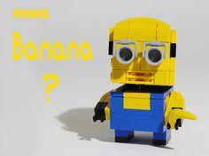 banana ? minion lego blockhead