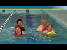Aquatic Therapy Exercises for Osteoarthritis - People Getting a Grip - YouTube