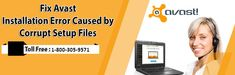 Fix Avast Installation Error Caused by Corrupt Setup Files Tech Support, Customer Support, Antivirus Software, Just Go, Numbers, Blog, Customer Service, Blogging