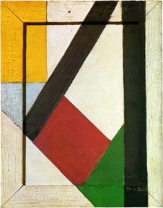 Theo van Doesburg,  1928  Neoplasticism Genre: abstract painting Technique: oil Dimensions: 22 x 17 cm