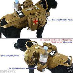Tactical Hot Weather Mesh Cool Molle Dog K9 Training Vest. Köpeğiniz için eğitim yeleği..