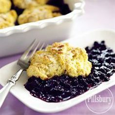 #Blueberry #Cobbler from Pillsbury® Baking