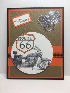 Motorcycle lovers card motorcycle Birthday card Mens card