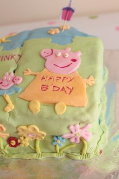 Peppa Pig Cake -Perfect for kids birthdays