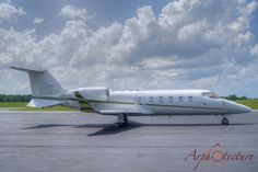 Arphotecture, Aviation Photography, Learjet 60XR