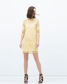 ZARA - NEW THIS WEEK - LACE DRESS