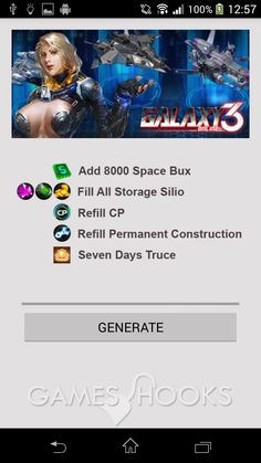 Galaxy Online 3 Hack (Android -apk) | Games Hooks , Download Galaxy Online 3 Mod !