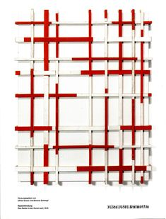 Ausstellungskatalog | Rasterfahndung, Kunstmuseum Stuttgart, 2012 (Beat Zoderer, Baulatten auf Leinwand, 1997)