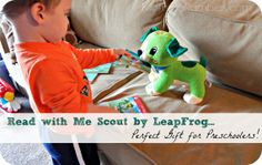 Check out the Read with Me Scout by LeapFrog! This is the perfect gift to give preschoolers to help them with their reading comprehension and other literary skills. #ReadwithMeScout