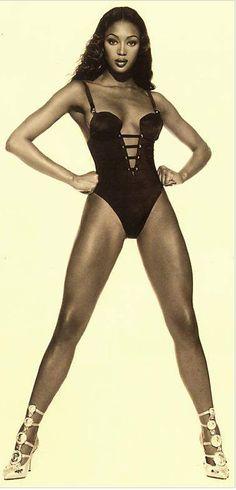 Naomi in Versace