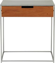 audrey nightstand in bedroom furniture | CB2 - can also work as a side table in living room