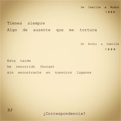 #camilleclaudel #Rodin #art #literatura #citas #cartas