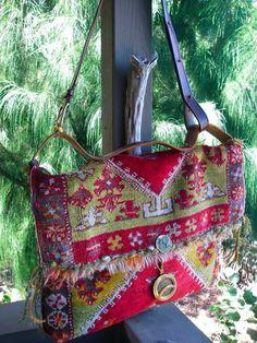 rug messenger bag