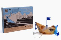 Motorized Paper Boat Conversion Kit