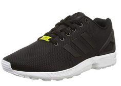new arrival fd9bb 2af6b Chollo en Amazon  zapatillas deportivas Adidas ZX Flux en negro por sólo  3295 euros con