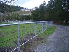 Suspension Horse fencing.