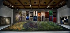 Metsä (Forest), 1967 The most famous work Textile Artists, Modern Rugs, Wool Rug, Colours, Design, Home Decor, Decoration Home, Room Decor