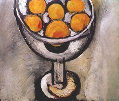 Bowl of Oranges. 1916. Henri Matisse