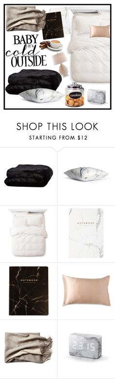 """""""Bed time"""" by mihai-theodora ❤ liked on Polyvore featuring interior, interiors, interior design, home, home decor, interior decorating, Olivier Desforges, Threshold, Donna Karan and Gingko Electronics"""