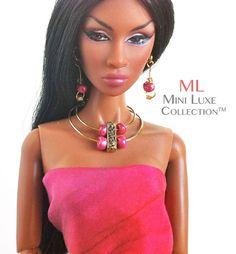Doll Jewelry for Fashion Royalty dolls Poppy por MiniLuxeCollection