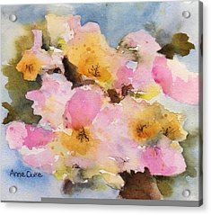 Orchard Blossom Acrylic Print by Anne Duke