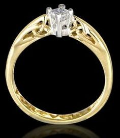 Clogau Welsh Gold Engagement Ring GBP1150