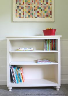 easy bookshelf with