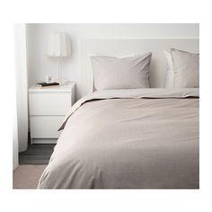 BLÅVINDA Duvet cover and pillowcase(s) - Full/Queen (Double/Queen) - IKEA