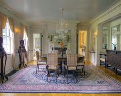 Have a major Scarlett O'Hara moment in this grand Georgian built in 1914 featuring all the classic details of the style — decorative moldings, multipane windows, and several fireplaces. The Litchfield home has an impressive 12,000 square feet (more than enough room to walk around in a curtain dress), nine bedrooms, six full, and three half bathrooms.