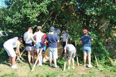 SantiagoeComarca: Ames - hoxe remata o campamento urbán  Julio 2012