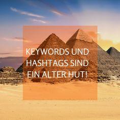 Von Keywords und Hashtags