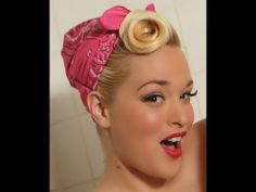 "Pin Up Hair Tutorial ""Rosie the Riveter"" ~ Bianca Bombshell"