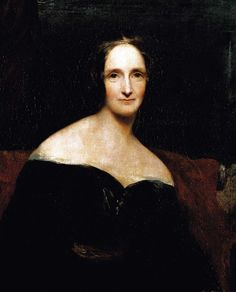 Mary Shelley en un retrato de 1840