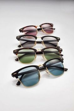 I'll take one in every color. #sunglasses #RayBan