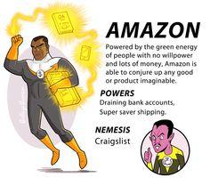 Amazon (Internet Superhero) | By: Caldwell Tanner