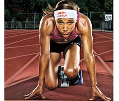 """Be like Lolo Jones - If you fall, get back up!  At the 2008 Olympics, Jones was a favorite in the 100-meter hurdles. She was on pace to win gold—until she tripped over the penultimate hurdle. Devastated but not defeated, she fought her way back to break the American record in the indoor 60-meter hurdles in 2010. This could be the year of Lolo's revenge. """"Bad things can be good,"""" she says, """"if you use them as motivation."""""""