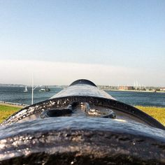 Cannon at Fort Adams in Newport, RI #citybythesea #newportri #pellbridge    Instagram photo by @bdr3512