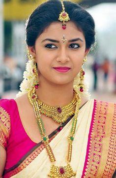 15 Best Pics of Keerthi Suresh in Saree - Buy lehenga choli online Beautiful Girl Indian, Most Beautiful Indian Actress, Beautiful Saree, Beautiful Actresses, Indian Film Actress, South Indian Actress, Indian Actresses, South Actress, South Indian Heroine