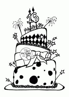 Happy 5th birthday coloring page   Kid projects   Birthday ...