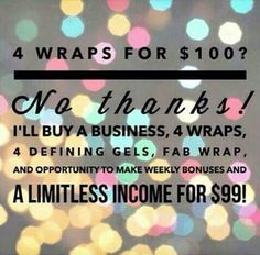 What to join it works? Now is the time. Message me or check out my website www.skinnywithchelle.itworks.com