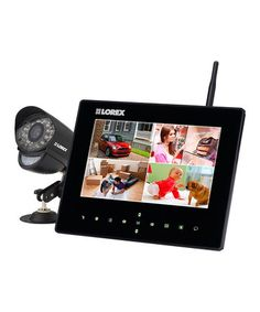 Loving this Live LCD Recording Monitor & Wireless Camera on #zulily! #zulilyfinds
