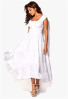 Chiara Forthi Bell Dress Valkoinen