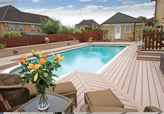 VertiGrain 2 composite decking is TimberTech UK's best-selling range. 2 colours available: Grey and Cedar. Wpc Decking, Composite Decking, Cedar Deck, Cedar Boards, Glass Balustrade, Composition, Walkway, Outdoor Decor, Honey
