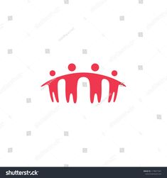 people family together human unity logo vector icon #icon, #logo, #design, #vector, #group,