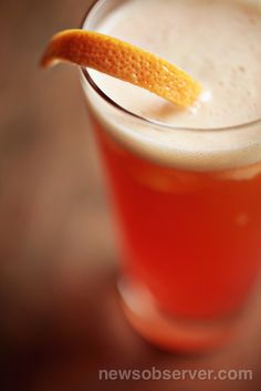 Gallo Pelon's Hop-A-Cabra' combines tequila, campari and an IPA for an interesting cocktail. The recipe comes from Marshall Davis, bar manager at Raleigh's Gallo Pelón.