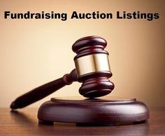 At any charity fundraising event, the live auction is where most of the money is raised. Fundraising auction listings are critical to your success because they help pre-sell your best auction items and attract more bidders. It doesn't matter if you already have them listed online or you're also doing an audio/video presentation. http://www.fundraiserhelp.com/fundraising-auction-listings.htm